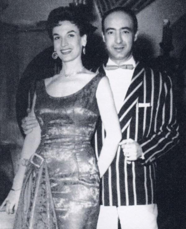 Lia Delby y Francisco Esteve en una de las fotografías de La Caixa Negra, de José Carlos Díaz. Cortesía del autor.