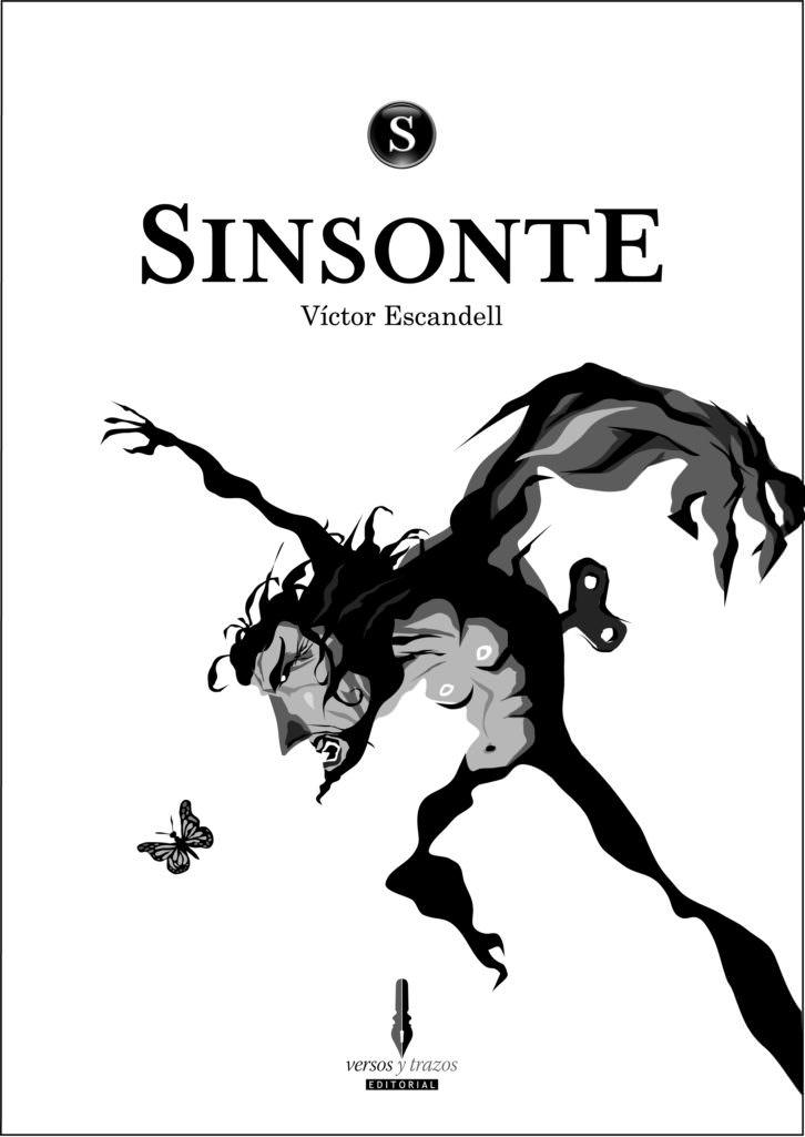 Portada de 'Sinsonte', de la editorial Versos y Trazos.