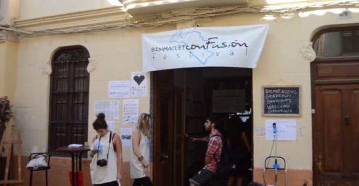 Imagen de la pasada edición de Benimaclet ConFusión Festival.