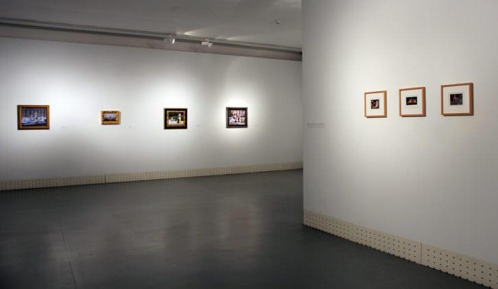 Vista de la exposición en el espacio Iniciarte. Cortesía del artista.