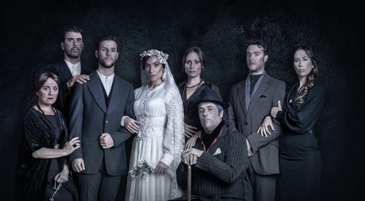 Imagen promocional de Bodas de sangre, de Federico García Lorca, dirigida por José Saiz. Imagen cortesía de Teatro Flumen.