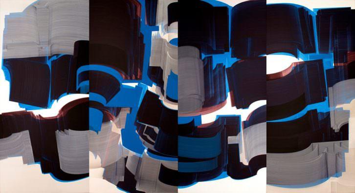 'Cronical shock waves', obra de Sergio Barrera. Imagen cortesía del artista.