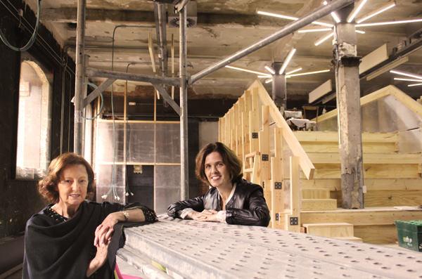 Rosina Gómez-Baeza y Lucía Ybarra, comisarias y coordinadoras de Foro Arte Cáceres'15