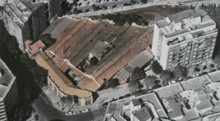 Fotografía de la ubicación de la antigua fábrica del barrio de Marxalenes de Valencia donde irá el futuro Centre d'Art Bombas Gens.
