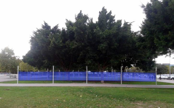 Hugo Martínez-Tormo. Wind Wave, 2015. XVIII Art públic / Universitat pública. Cortesía del artista.