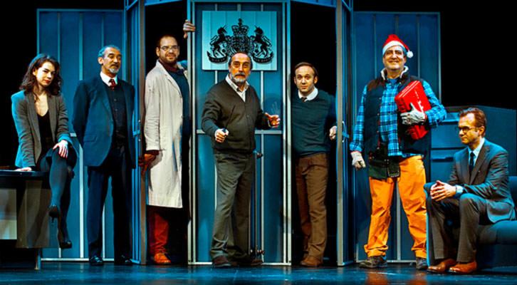 Invernadero, de Harold Pinter, bajo la dirección de Mario Gas. Imagen cortesía del Teatro Olympia.