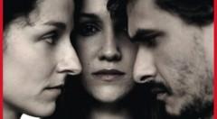 Ruth Cabeza, María San Miguel y Pablo Rodríguez conforman el trío actoral de 'La mirada del otro'. Fotografía cortesía de Rambleta.