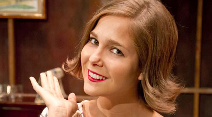 Natalia Sánchez como Ninette. Teatro Talía.