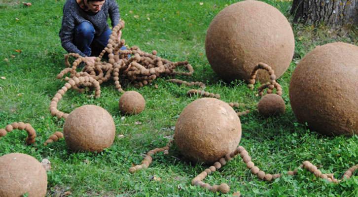 Obra de en Open Natura. Imagen cortesía de la organización.