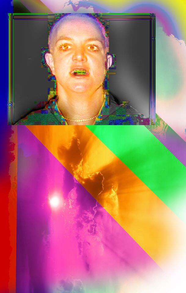 Obra de Pepo Salazar en 'Punk. Sus rastros en el arte contemporáneo'. Imagen cortesía de Artium.