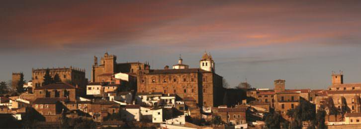 Vista de Cáceres. 2015. Cortesía de Boni Sánchez.