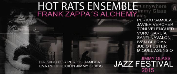 Carátula del Frank Zappa's Alchemy. Cortesía de Jimmy Glass.