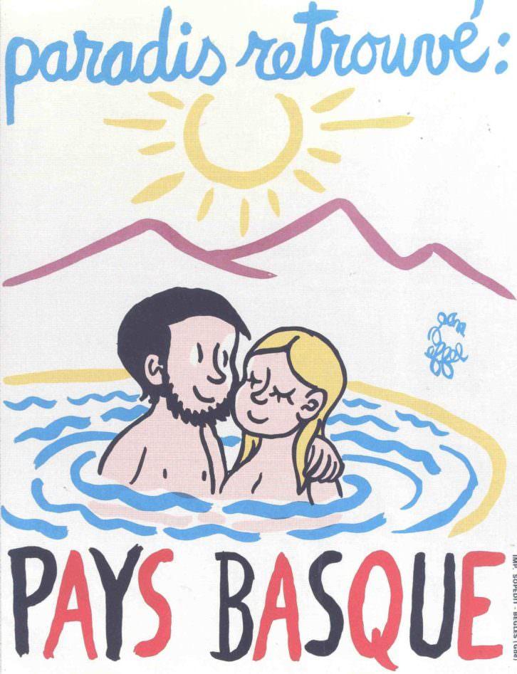 Uno de los carteles de la exposición Mensajes desde la pared. Cortesía del Museo de Bellas Artes de Bilbao.