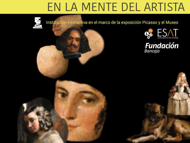 En la mente del artista, proyecto de ESAT en la exposición Picasso y el museo. Imagen cortesía de ESAT.