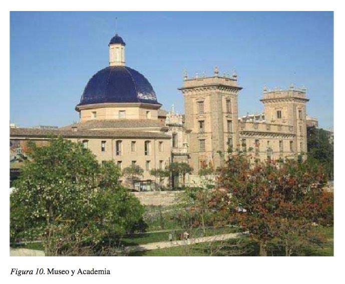 Museo de Bellas Artes y la Real Academia. Cortesía de EARI.