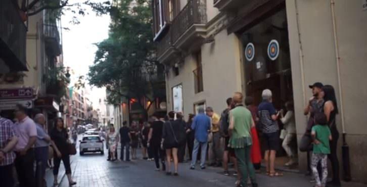 Imagen del video realizado para la convocatoria de Intramurs 2015, realizado por Tano Giménez y Natxo Sanmartín.
