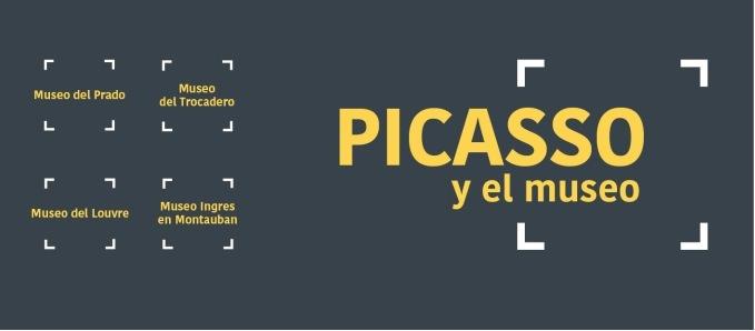 Cartel de la exposición Picasso y el Museo. Cortesía de Fundación Bancaja.
