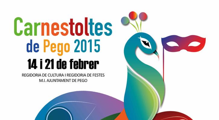 XXIV CONCURS DE CARTELLS DE CARNESTOLTES DE PEGO 2016