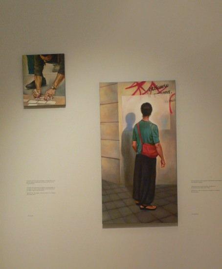 """Detalles de """"El incendio y la palabra"""", de Mery Sales. Imagen Vicente Chambó."""