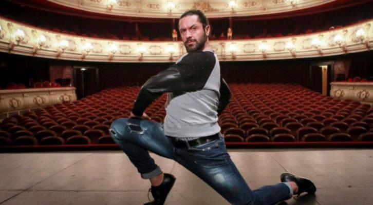 Rafael Amargo en el Teatro Principal de Valencia. Fotografía: Jose Cuéllar.