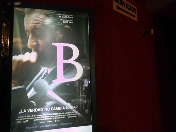 Aragó Cinema arrranca con B de Bárcenas, de David Ilundain.