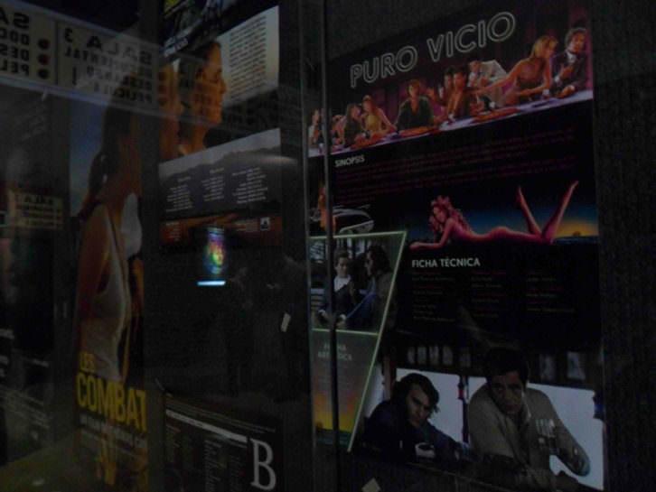 Algunos carteles de las películas con las que arranca la programación de Aragó Cinema.