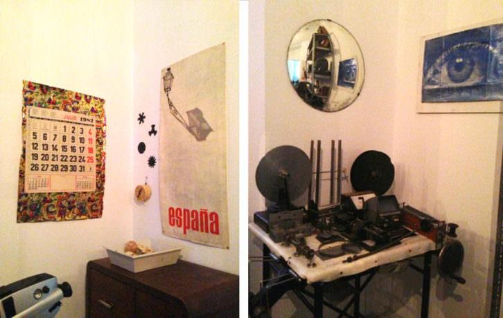 Dos imágenes de la recreación del Laboratorio PLAT. Fotografía: Merche Medina.