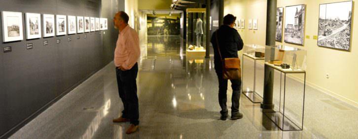 Vista parcial del montaje de la exposición. Fotografía: Jose Ramón Alarcón.