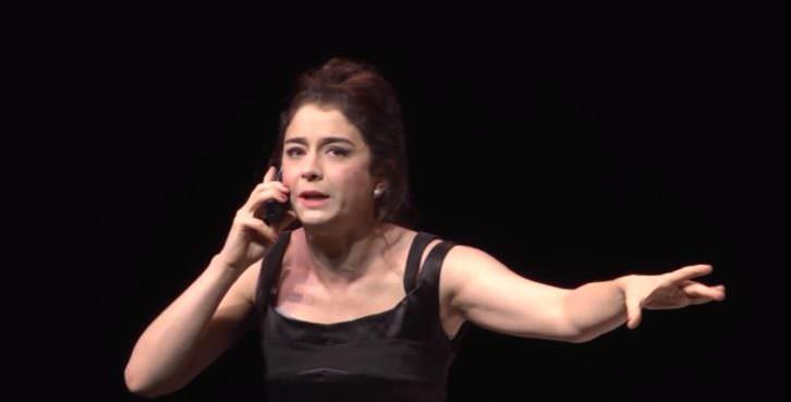 Érica Rivas en 'Escenas de la vida conyugal'. Teatro Olympia de Valencia.