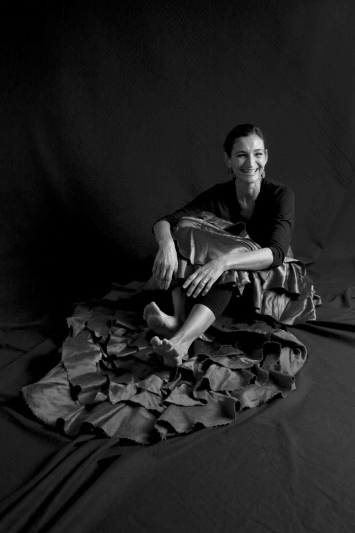 Eva Moreno. Fotografía de Jesús Vallina.