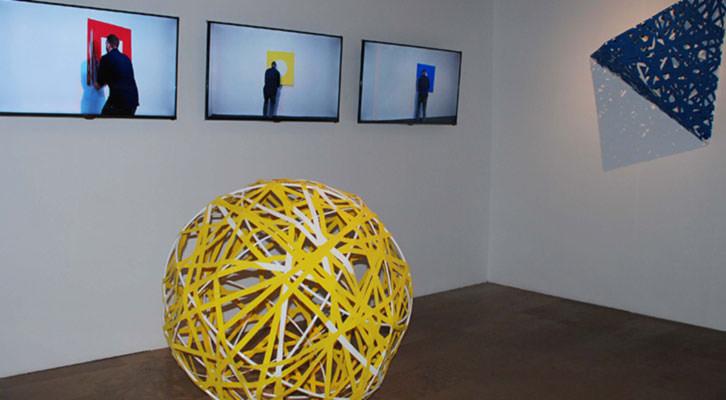 Obras de Hugo Martínez-Tormo. Cortesía del Centro del Carmen.