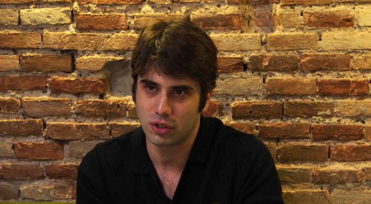 Carlos Madrid, director de La Cabina. Fotografía: Fernando Ruiz.