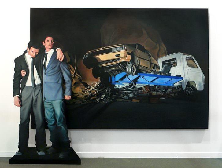 Obra de Martin y Sicilia. Galería Kir Royal.