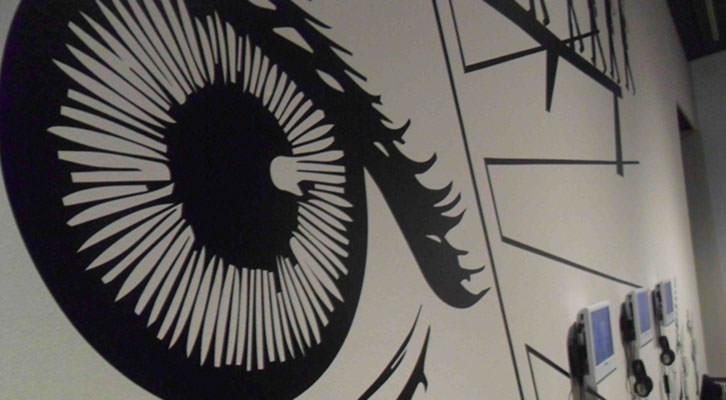 Imagen de la exposición 'Un ataúd en el Purgatori'. Centro del Carmen.