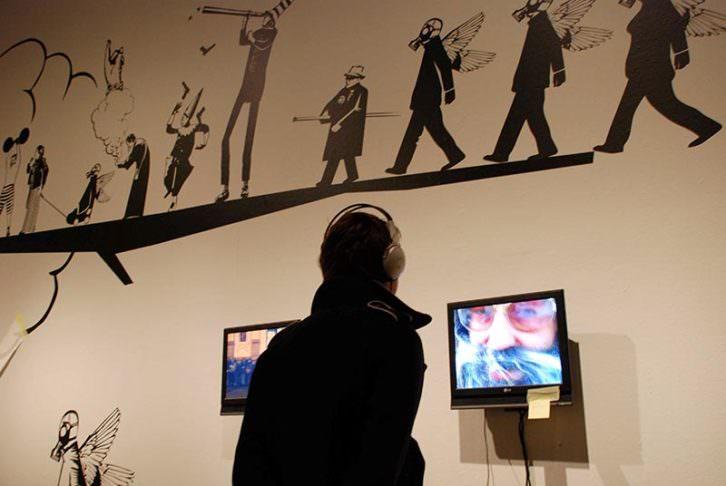 Imagen de la exposición 'Un ataúd en el Purgatori. Centro del Carmen.