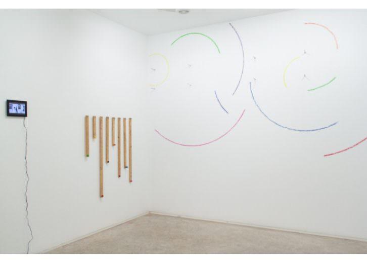 Obra de Luce y Eltono en 'Lugares comunes'. Imagen cortesía de Set Espai d'Art.