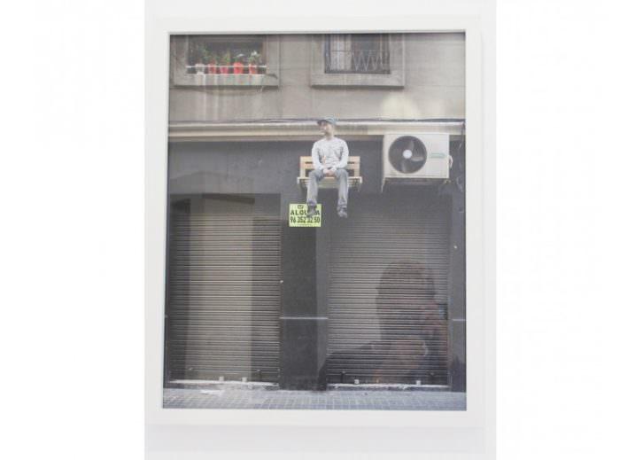 Obra de Luce y Eltono en la exposición Lugares comunes. Imagen cortesía de Set Espai d'Art.