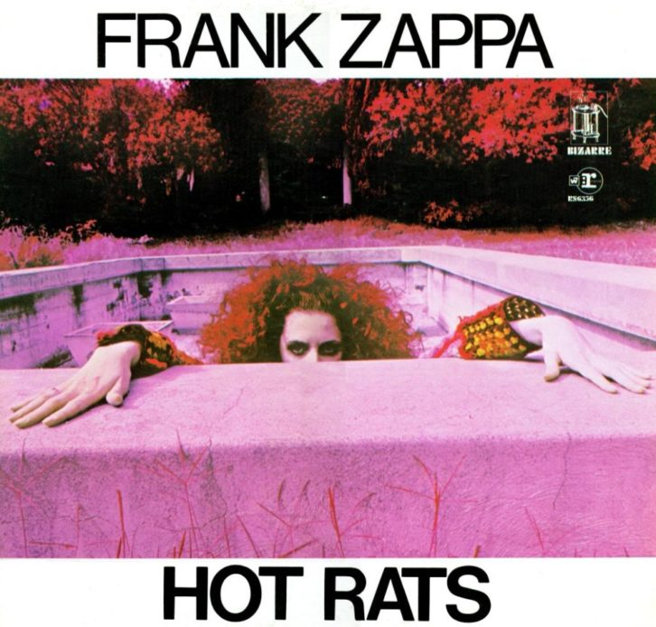 Portada del disco Hot Rats, de Frank Zappa.