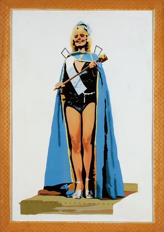 Obra de Ángela García Codoñer en la exposición Pop Feminista. Imagen cortesía de Galería Punto.