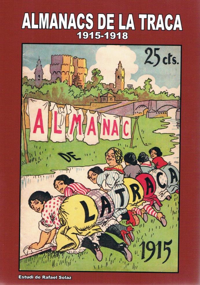 Portada del libro Almanacs de La Traca.