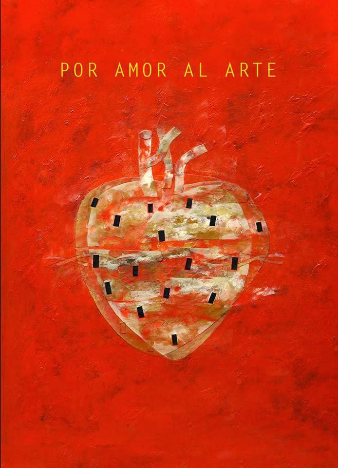 Obra de Horacio Silva para la portada del anterior proyecto 'Por amor al arte', de Generación Bibliocafé.