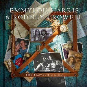 33. EMMYLOU HARRIS & RODNEY CROWELL - The travelling kind