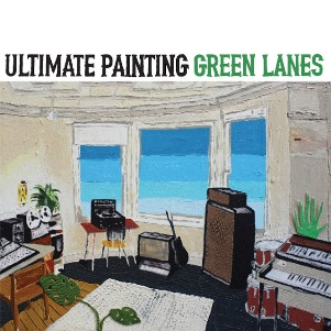 38. ULTIMATE PAINTING - Green lames - a