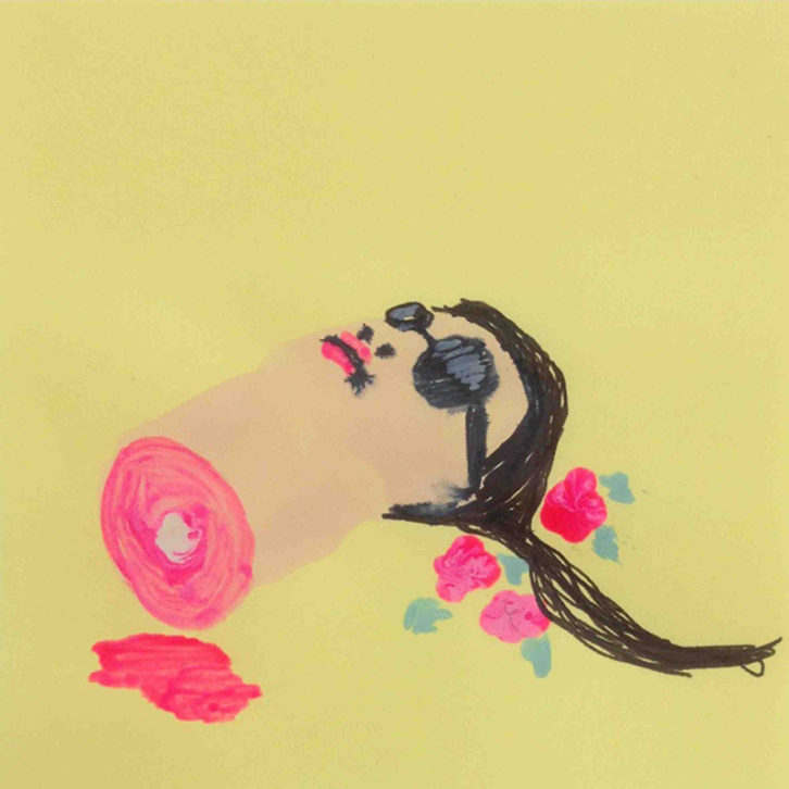 Obra de Antonio Asensi para I Pòsquin You. Imagen cortesía de Trentatres Gallery.