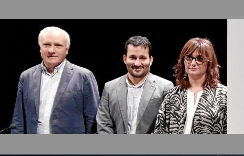 De izquierda a derecha, Albert Girona, Vicent Marzà y Carmen Amoraga. Generalitat Valenciana.
