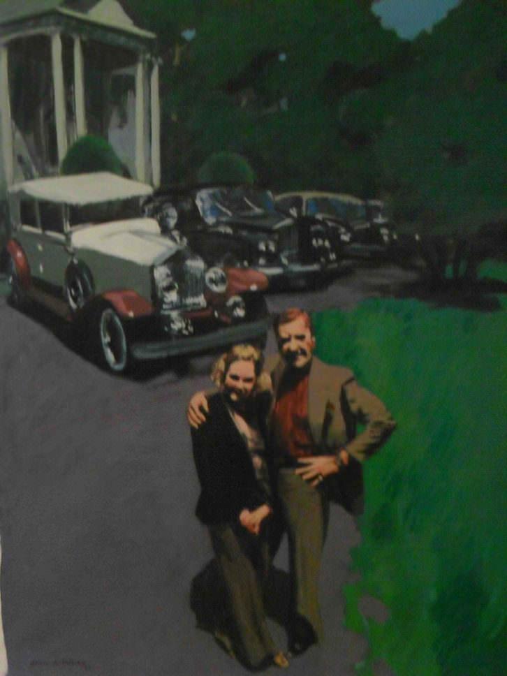 Obra de Joan Antoni Toledo por los 40 años de Galería Cánem en el Centro del Carmen.