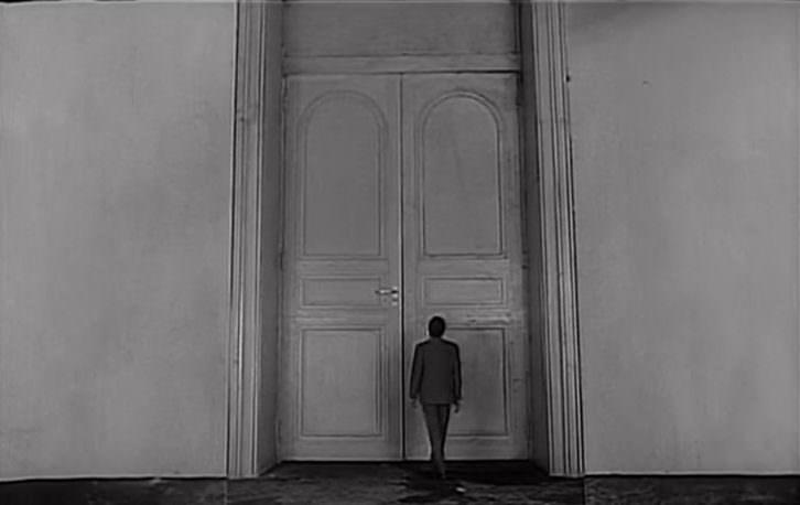 Fotograma de El Proceso de Orson Welles. Palacio de Colomina. Cátedra Berlanga.
