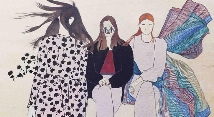 Obra de Estefanía Martín Sáenz para la exposición Las Ausentes.