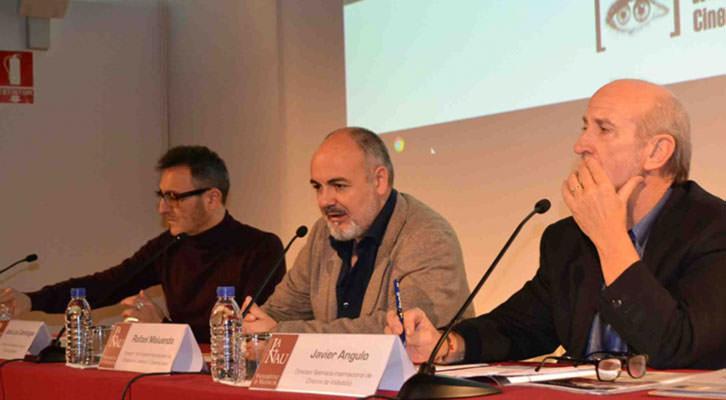De izquierda a derecha, José Luis Cienfuegos, Rafael Maluenda y Javier Angulo. Imagen cortesía de CulturArts.