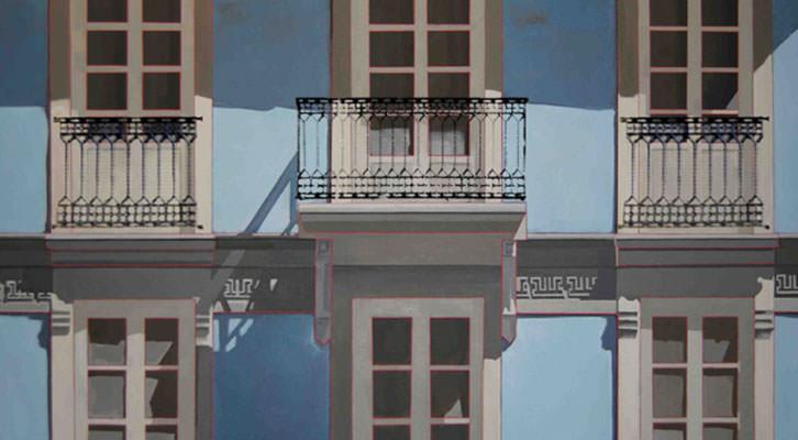 Obra de José Juan Gimeno. Imagen cortesía de Imprevisual Galería.
